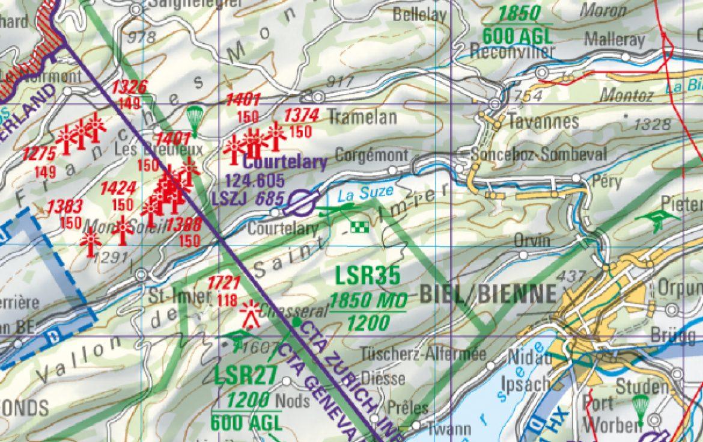 Espace Aérien du vallon de Saint Imier